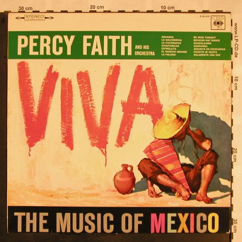 Faith,Percy, his Orchestra: Viva, CBS(S 62 410), D, stoc,  - LP - X1141 - 7,50 Euro