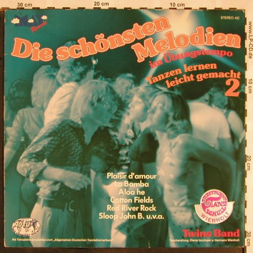 Twins Band: Die schönsten Melodien 2-Übungtempo, May Records(MAY 412), D,  - LP - X1397 - 5,00 Euro