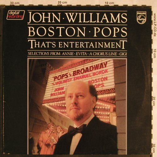 Williams,John - Boston Pops: That's Entertainment, Philips(6302 124), NL, m-/vg+, 1981 - LP - X1469 - 4,00 Euro