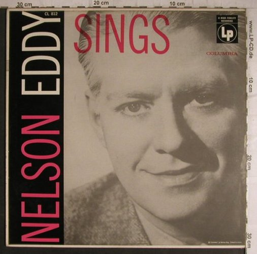Eddy,Nelson: Sings, Columbia(CL 812), US,  - LP - X1497 - 5,00 Euro