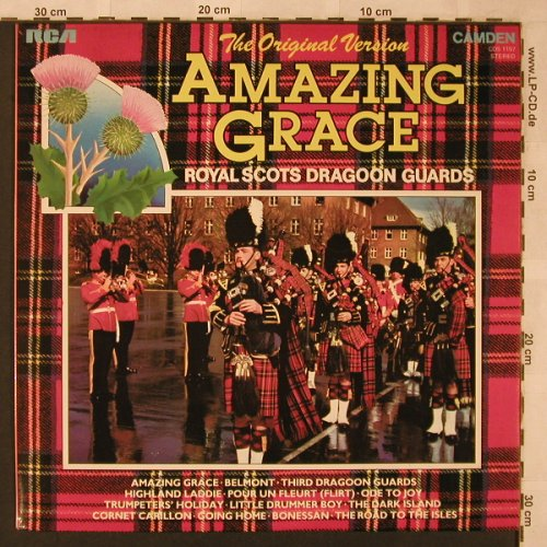 Royal Scots Dragon Guards: Amazing Grace, RCA(CDS 1157), D, 1972 - LP - X2547 - 5,00 Euro
