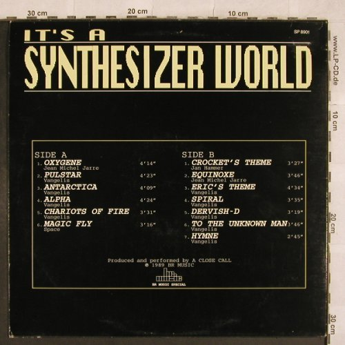 A Close Call: It's a Synthesizer Word, BR Music(SP 8901), B, 1989 - LP - X309 - 6,00 Euro