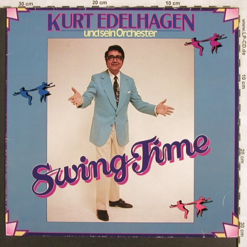 Edelhagen,Kurt & his Orch.: Swing Time (1966), Polydor(2459 253), D, Ri,  - LP - X3152 - 5,00 Euro