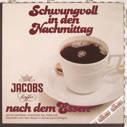 V.A.Schwungvoll in den Nachmittag: Multi Plan, ( vocal Produktion ? ), Jacobs Kaffee(1049), D,  - LP - X3421 - 5,50 Euro