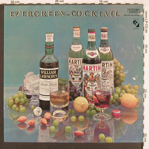 Alzner,Claudius u.s. Solisten: Evergreens-Cocktail, Elite Special(61 322), CH, 1973 - LP - X3477 - 9,00 Euro