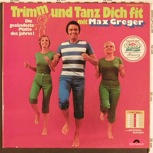 Greger,Max: Trimm und Tanz dich fit, Foc, Polydor(2371 433), D, 1973 - LP - X3494 - 5,00 Euro