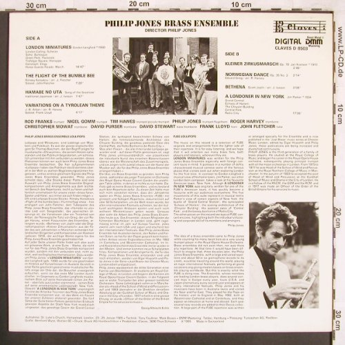 Jones,Philip - Brass Ensemble: Lollipops, B Claves(D 8503), CH, 1985 - LP - X3698 - 6,00 Euro