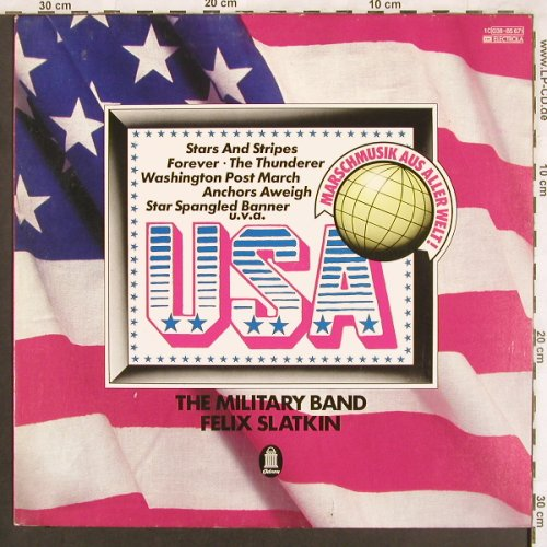 Slatkin,Felix - Military Band: USA, m-/vg+, woc, Odeon(038-85 671), D,  - LP - X3700 - 6,00 Euro