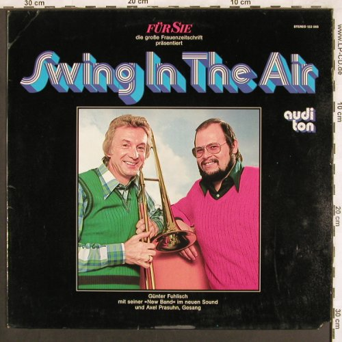 Fuhlisch,Günther & New Band: Swing In The Air, m-/vg+, Auditon / FÜR SIE(122 085), D, co,  - LP - X3704 - 5,00 Euro