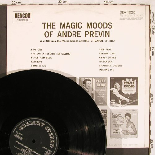 Previn,Andre: The Magic Moods of, Deacon/Gallery Stereo(DEA 1025), UK, 1970 - LP - X3709 - 6,50 Euro