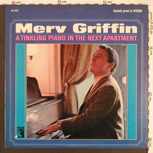 Griffin,Merv: A Tinkling Piano in the next Apartm, MGM(SE-4326), US, co,  - LP - X3710 - 7,50 Euro