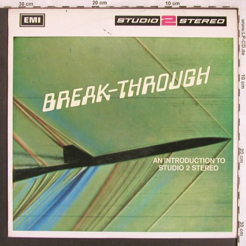 V.A.Break-Through: Franck Pourcel..Eric Delaney, Columbia(STWO1), UK, woc, 1967 - LP - X3715 - 7,50 Euro