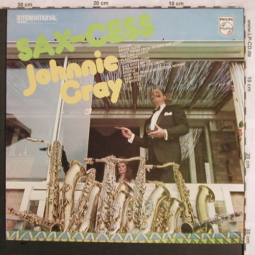 Cray,Johnnie: Sax-Cess, Philips(6382 012), D,  - LP - X3987 - 7,50 Euro