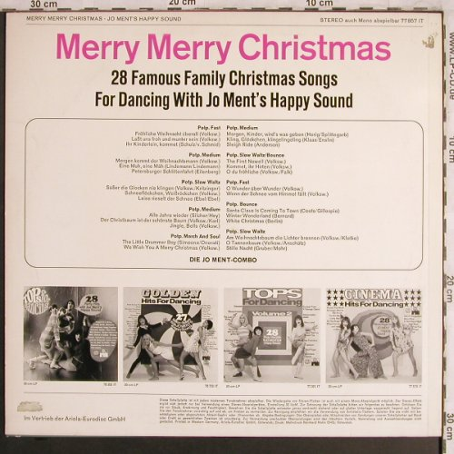 Ment,Jo: Merry Merry Christmas, Ariola(77 857 IT), D,  - LP - X4140 - 5,50 Euro