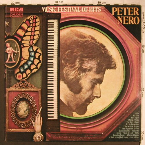 Nero,Peter: Music Festival of Hits, Foc, woc, RCA Camden(ADL2-0284), US, 1973 - 2LP - X4858 - 9,00 Euro