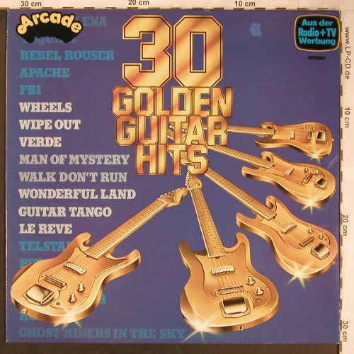 V.A.30Golden Guitar Hits: Apache...Dance on, Arcade(ADE G 33), D,  - LP - X5003 - 4,00 Euro