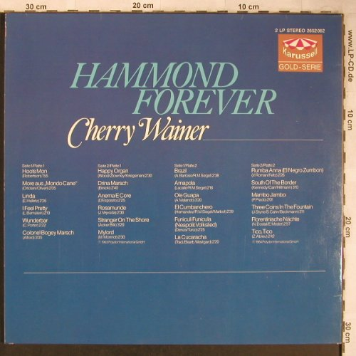 Wainer,Cherry: Hammond Forever, Foc, Karussell(2652 062), D,  - 2LP - X5024 - 6,00 Euro