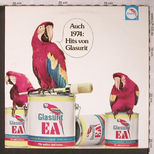 V.A.Glasurit  Hits'74: Auch 1974_Hits, Jo James, BASF(00 22001-3), D, 1974 - LP - X5066 - 5,00 Euro