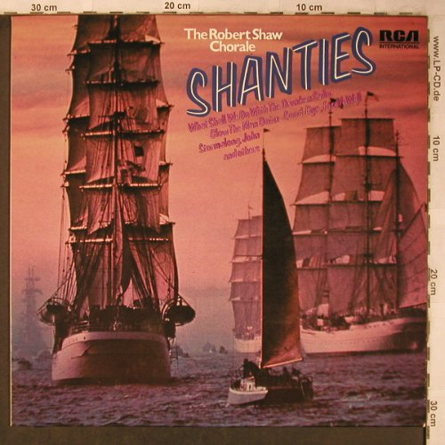 Shaw, Robert Chorale: Shanties, RCA International(PJM1-8008), D, 1974 - LP - X5169 - 7,50 Euro