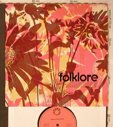 Melodia Quartett Wuppertal: Folklore International, Bernd Kulla, Life Records(73 712-17), D,  - 10inch - X5211 - 6,00 Euro