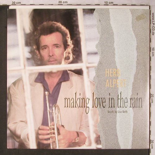 Alpert,Herb: Making Love in the Train*2+Megamix, AM(392230-1), D,m-/vg+, 1987 - 12inch - X5232 - 4,00 Euro