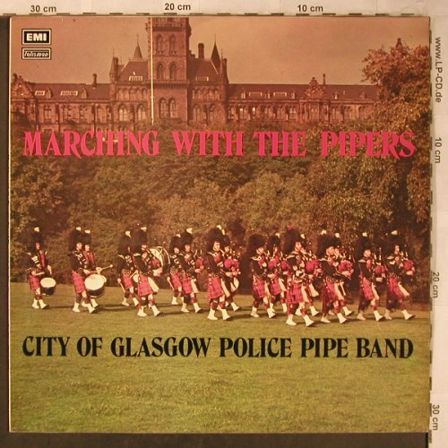 City of Glasgow Police Pipe Band: Marching with the pipes,MacDonald, EMI Talisman(STAL 5030), UK, 1966 - LP - X5336 - 7,50 Euro