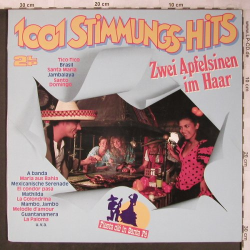Parkas,Tommy-Orch. & Happy Singers: 1001 Stimmungs-Hits,2 Apfels.im H., S*R(42 909 2), D, 1985 - 2LP - X5360 - 5,00 Euro
