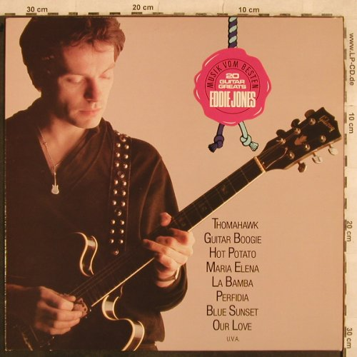Jones,Eddie: 20 Guitar Greats, Teldec(6.25661 LF), D, 1983 - LP - X539 - 5,00 Euro