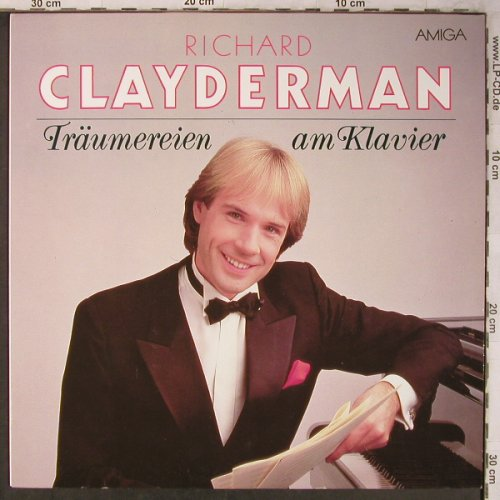 Clayderman,Richard: Träumereien am Klavier, Amiga(8 56 463), DDR, 1989 - LP - X5401 - 7,50 Euro