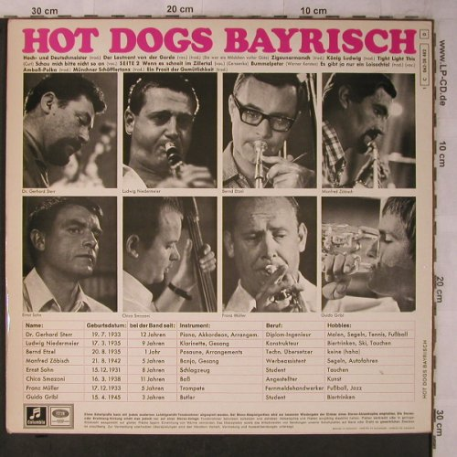 Hot Dogs: Bayrisch, EMI Columbia(C 062-28 482), D,  - LP - X5683 - 6,00 Euro