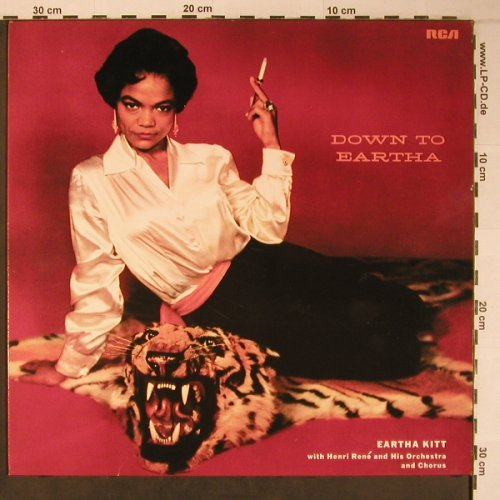 Kitt,Eartha - Henri Rene's Orch.: Down To Eartha, Mono, Ri, RCA(NL 89438), D, 1984 - LP - X6606 - 12,50 Euro