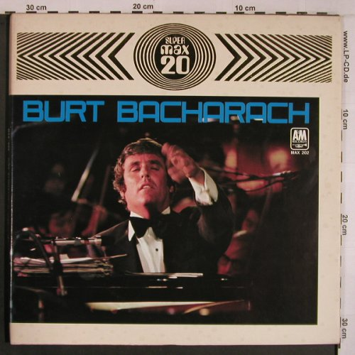 Bacharach,Burt: Super Max 20, Foc, no banderrole, AM(MAX-202), Japan, 1971 - LP - X6876 - 40,00 Euro