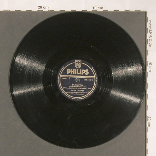 Zamora,Maria: La Raspita / Rumba International, Philips(PH 5162), D, 1952 - 25cm - N399 - 6,00 Euro